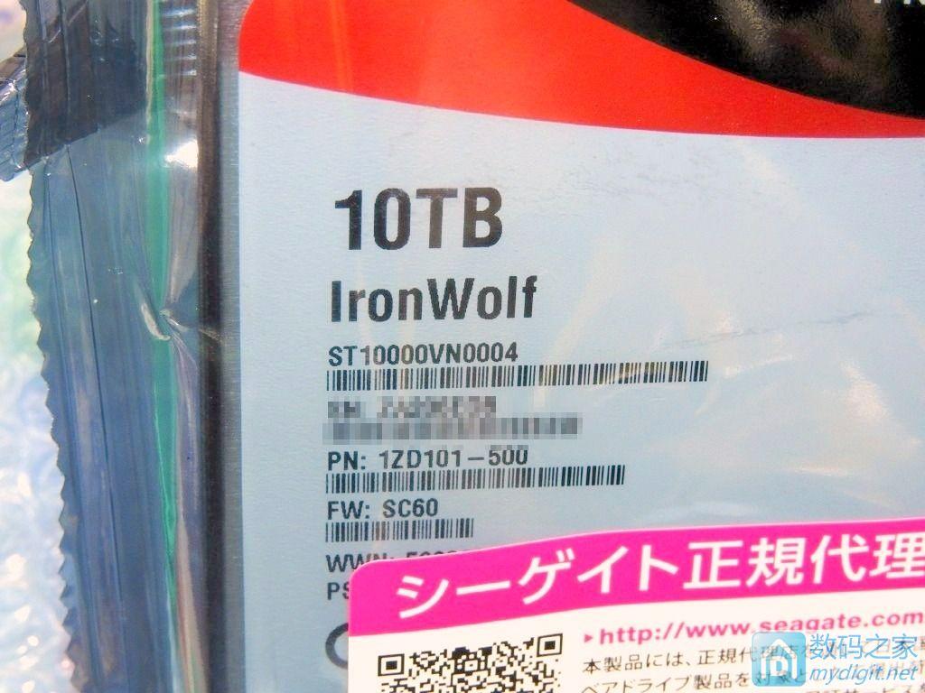 """它的名字叫""""铁狼"""" 希捷首款消费级10TB仓库盘上市,不到4K人民币"""