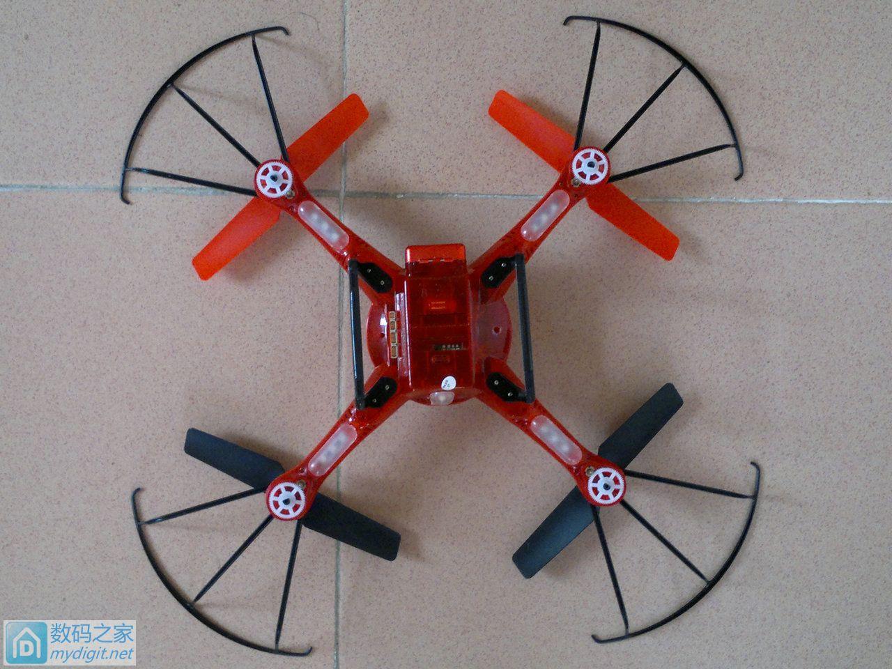 伟力Q222气压定高四轴飞行器拆解简评(首拆)