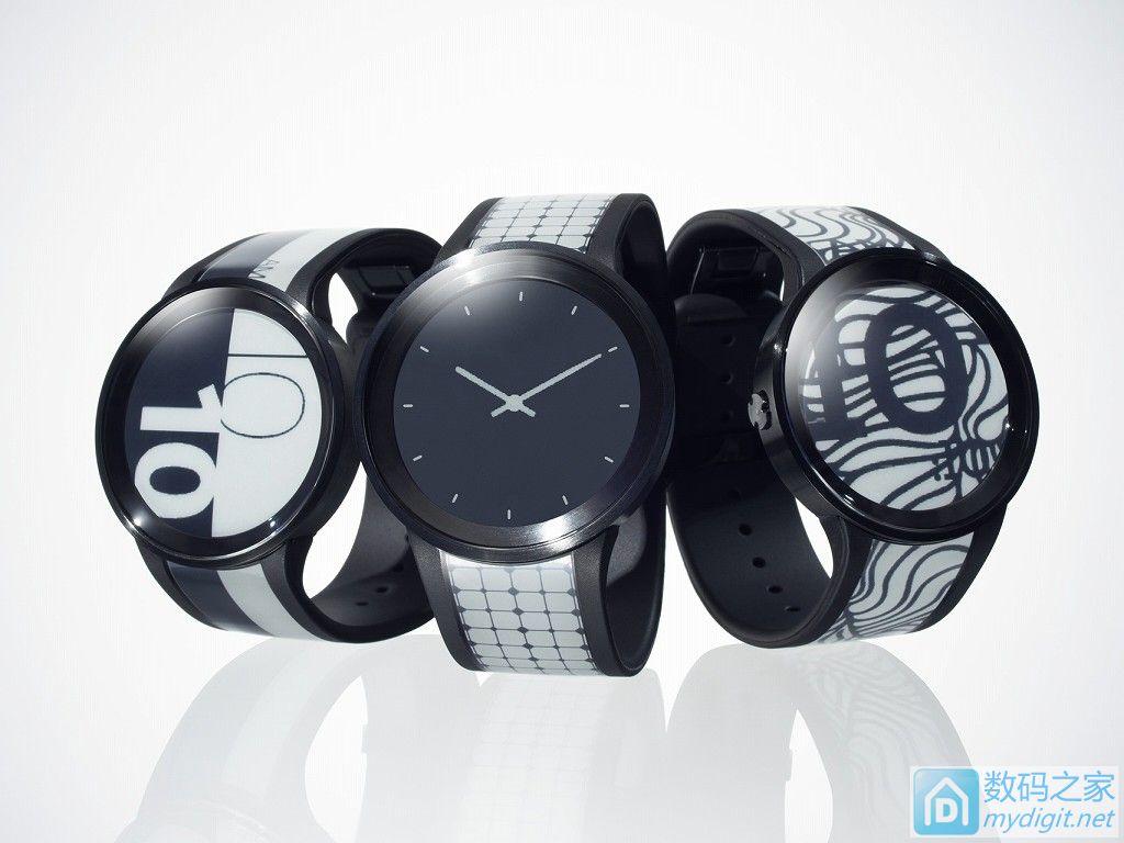 续航最短3周 索尼发布2代目电子纸手表FES Watch U