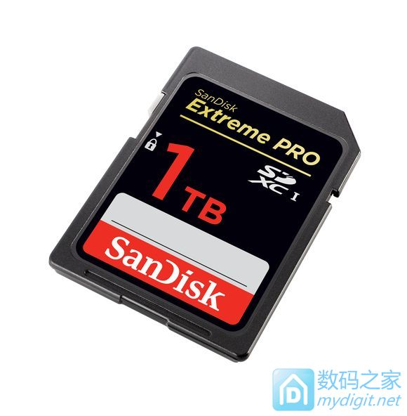 以后移动硬盘可以扔了 闪迪推出容量改写记录的1TB SD卡