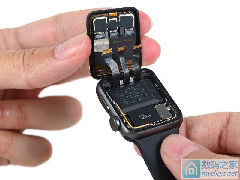 苹果 Apple Watch Series 2 智能手表首发拆解