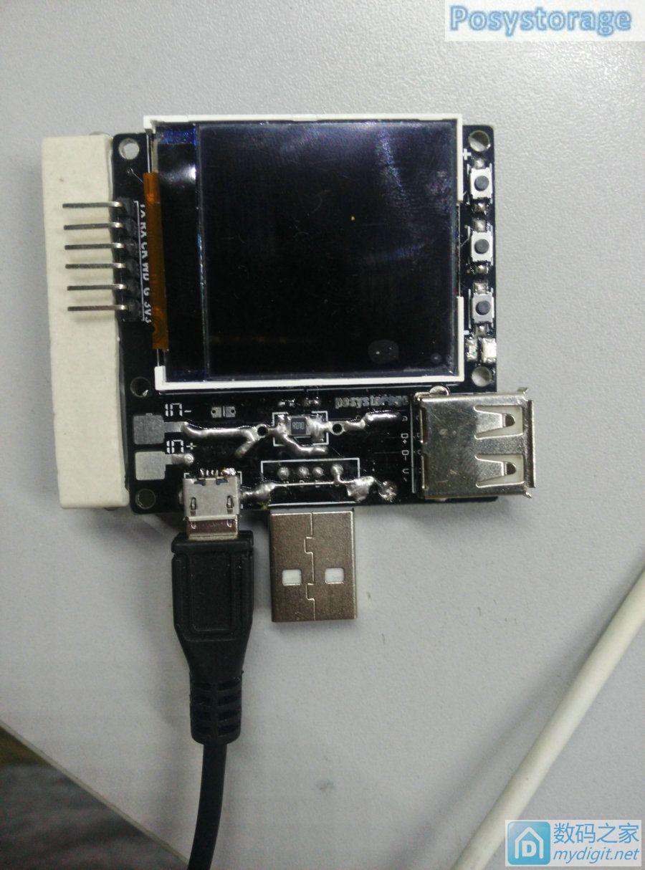基于efm32的彩屏蓝牙USB电压电流表,支持QC2.0/QC3.0/MTK快充诱