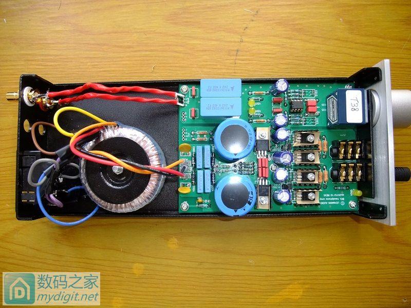 DIY了一个莱曼耳机放大器图片