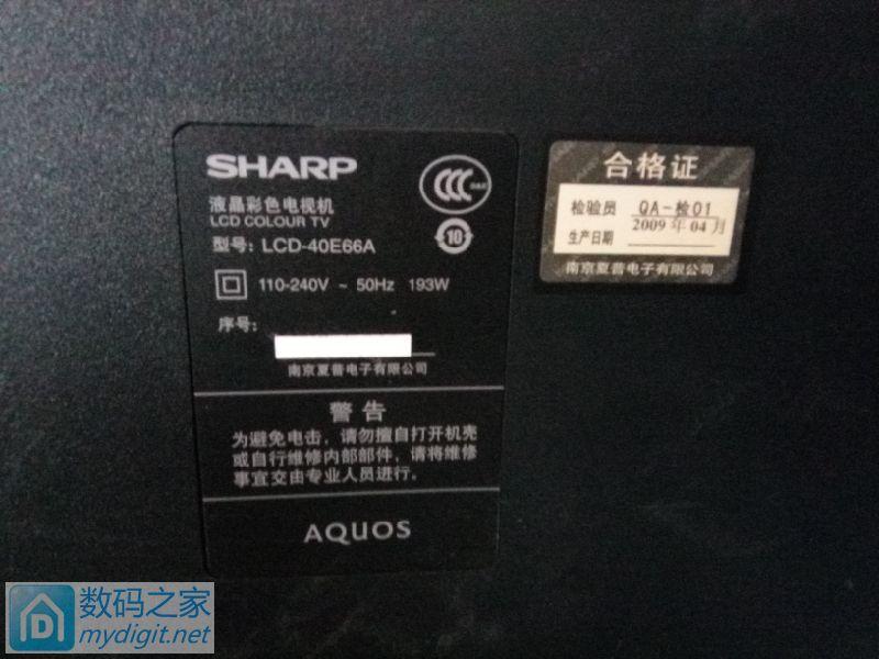 ��������sharp LCD-40E