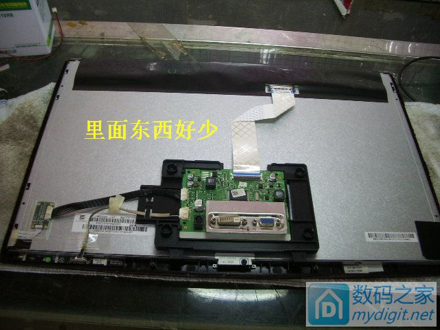原来显示器可以这样刷机~三星S22A330BW能开机却不能显示通病故障维修