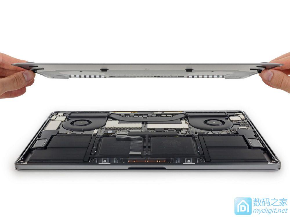 苹果2016款15寸MacBook Pro拆机报告(带Touch Bar)