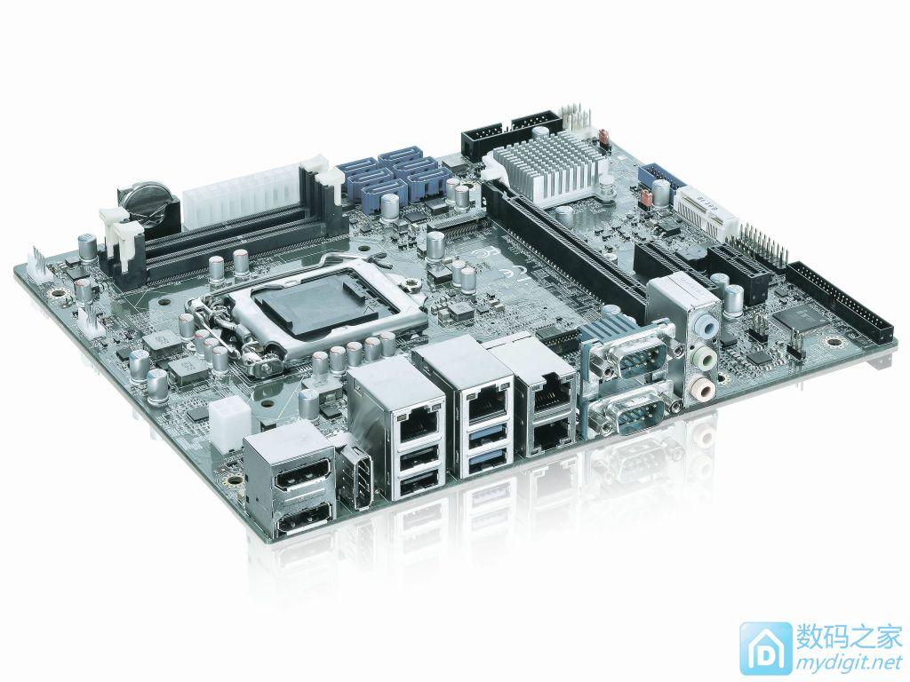 配色诡异扩展能力逆天 控创发布准服务器级主板FlexATX-SKL-S