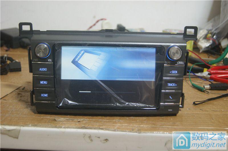处理新天籁彩屏cd-rav4彩屏无碟-日产无碟机-迈威mp5