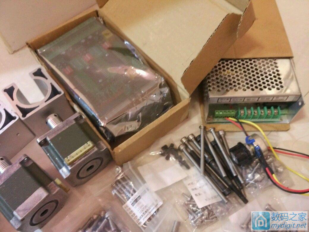 数控CNC 雕刻机 烂尾了, 出售全套配件、要的来。。。