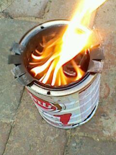 再做野炊炉(柴气炉)火力猛的不要不要的