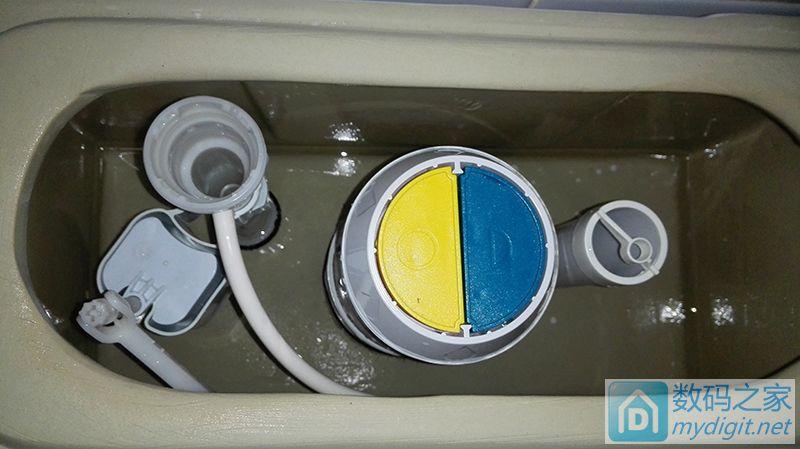 拆修马桶进排水阀,原理结构说明图解