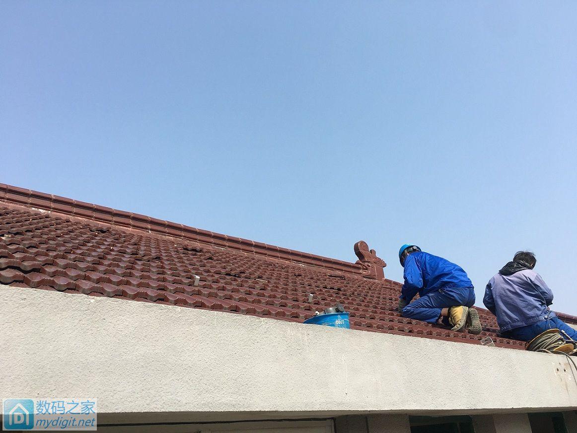 安装太阳能光伏电站更新至太阳能电池安装完毕