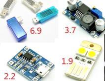 遥控门铃14.9,TCL空气净化器599,GPS测亩仪59,行车记录仪68,显微镜158,牛仔裤29