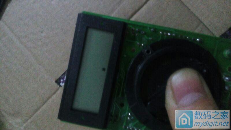 求助表接了充电器6v的电流到电池就这样了