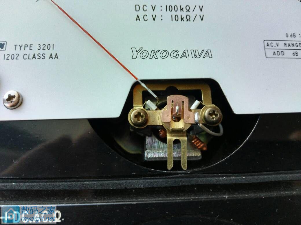 张丝表头的YOKOHAWA 3201万用电表