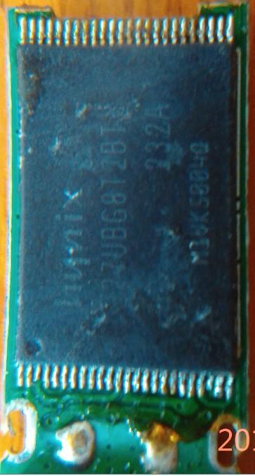 一个坏U盘,换了存储芯片,起死回生了