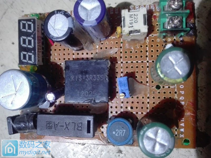 做了个3R33降压模块和一个XL6009E1升压模块