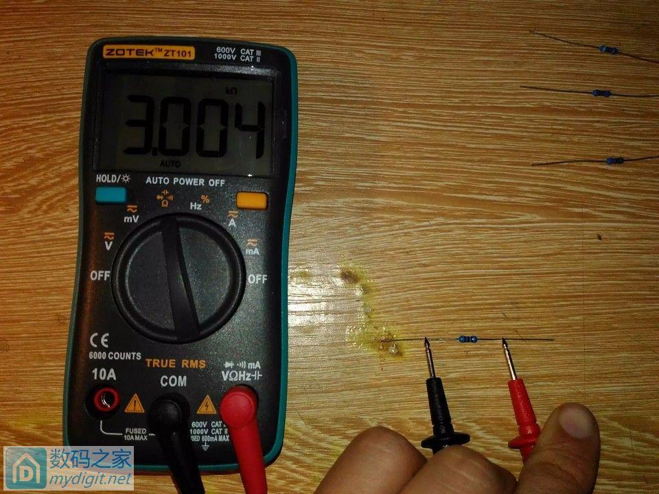 新入手的 众仪电测/ZOTEK ZT101使用简评