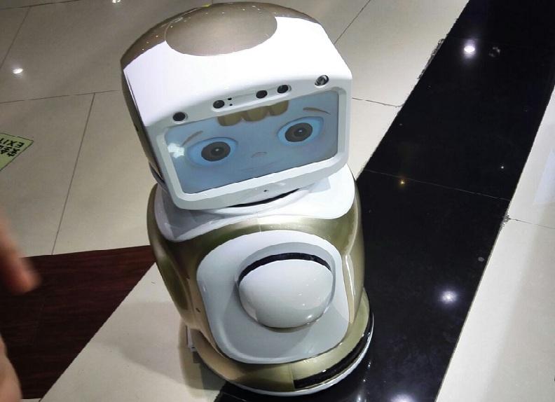 会打招呼,会跳舞的机器