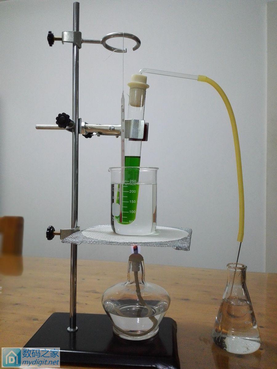 孩子的这个实验,差点把家给烧了,欧夹竹桃苷提取。197楼更新