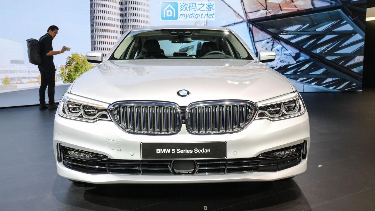 假端庄的运动狂人 宝马发布2018款530e插电式新能源轿车
