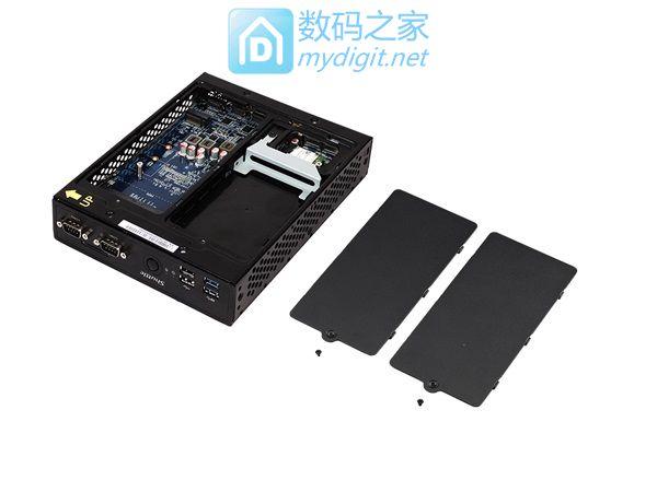 拳打超级本,脚踢塔式桌机 浩鑫发布DS77U超1公升微型准系统