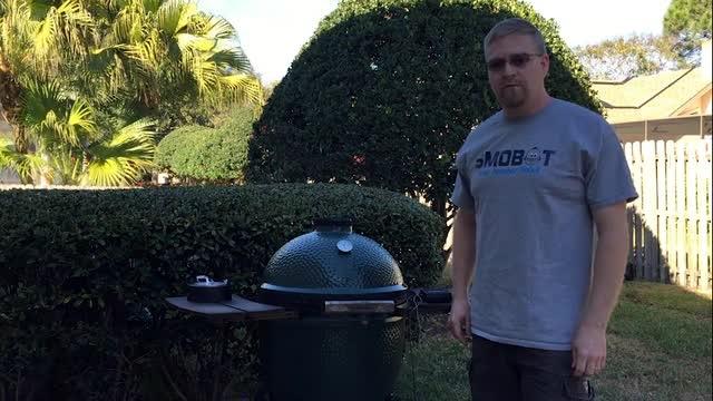 SMOBOT:熏不着人又贼安全的烧烤炉排烟/温控机器人