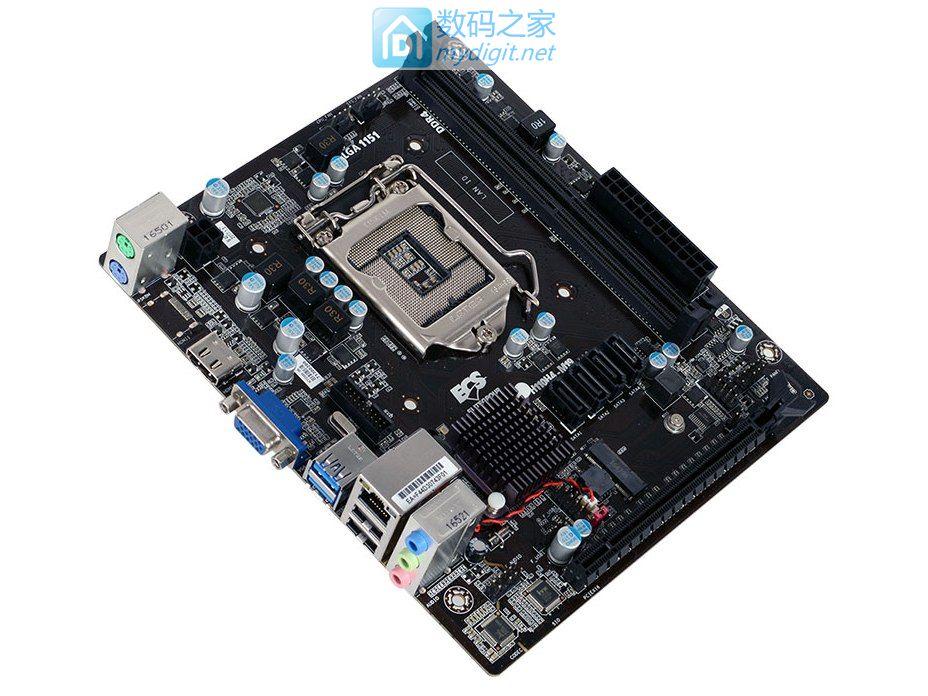制霸中端ITX组装机市场 精英H110H4-M19主板发布