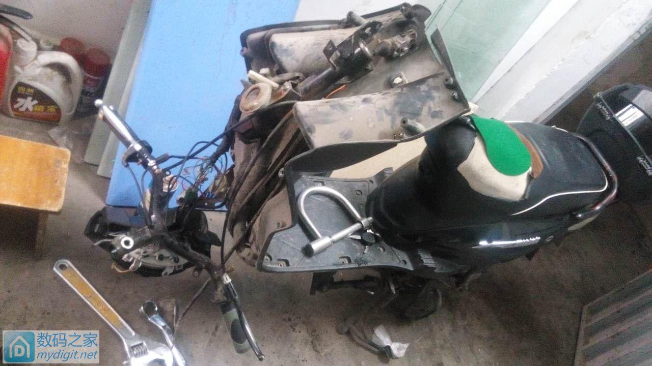 拆解篇:没条件创造条件上——骨灰级拆修电动车前叉减震(一)
