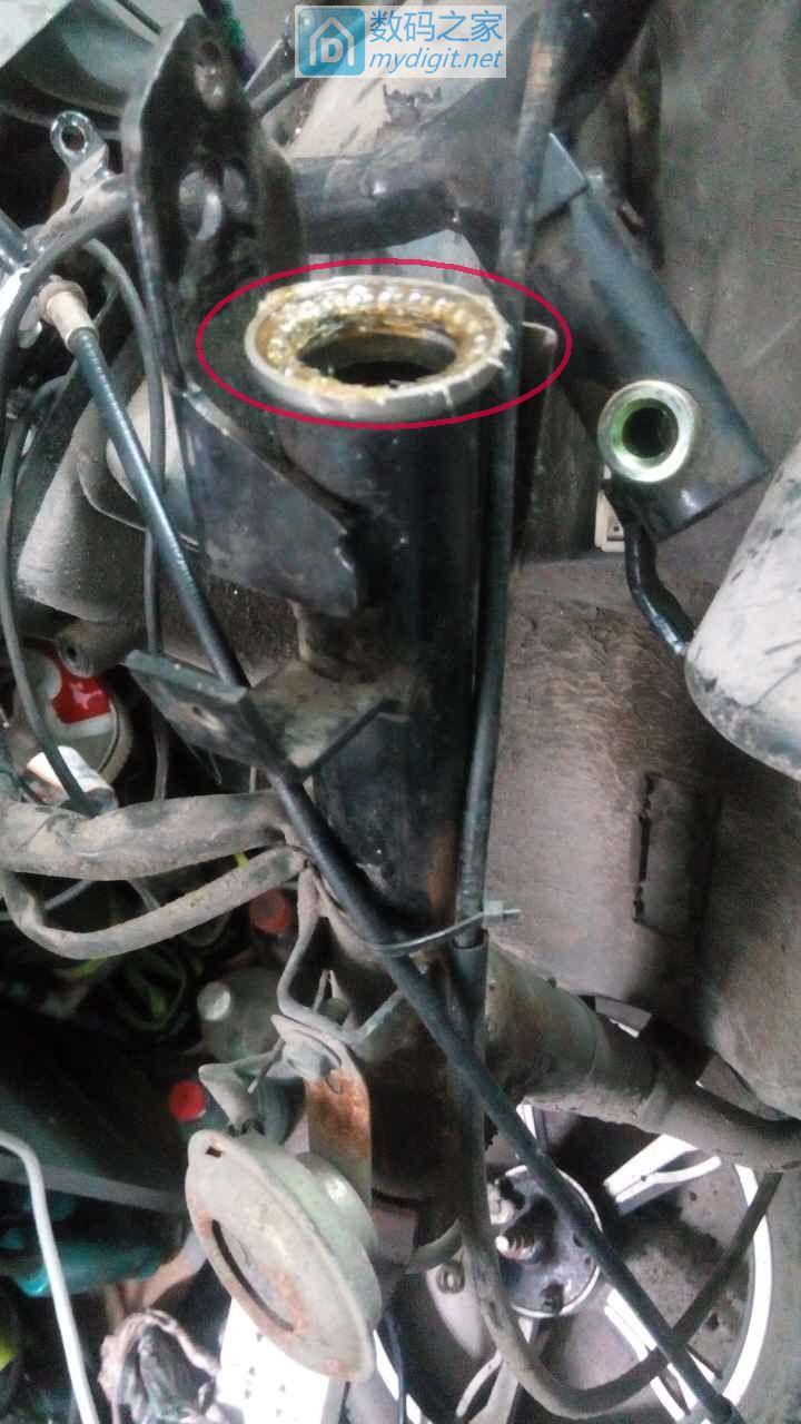 更换篇:一次说走就走的旅行——骨灰级拆修电动车前叉减震(二)