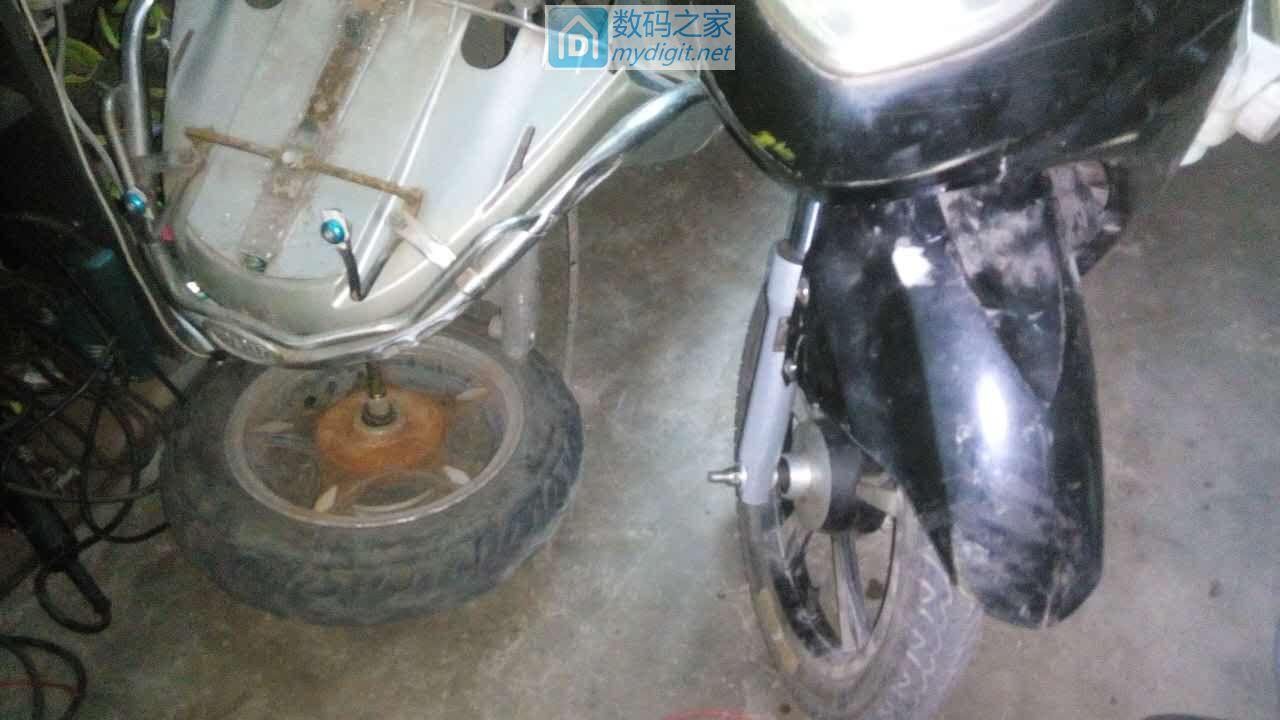 再拆一台电动车,顺便求助:怎么拆电动车前轮轴承?(已解决,请看续集)