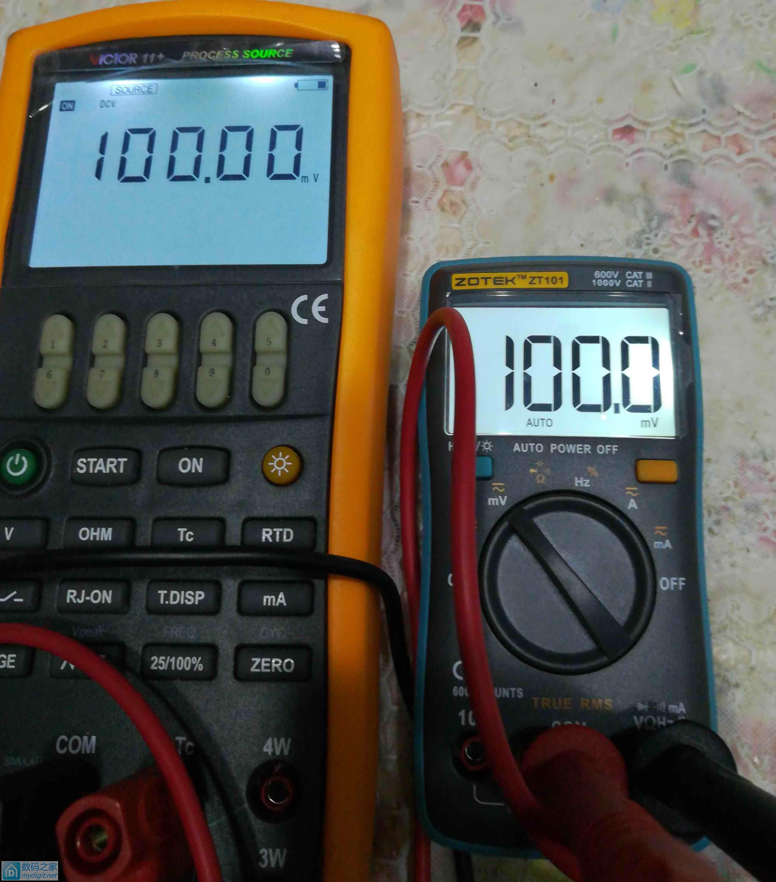 众仪ZT101测试