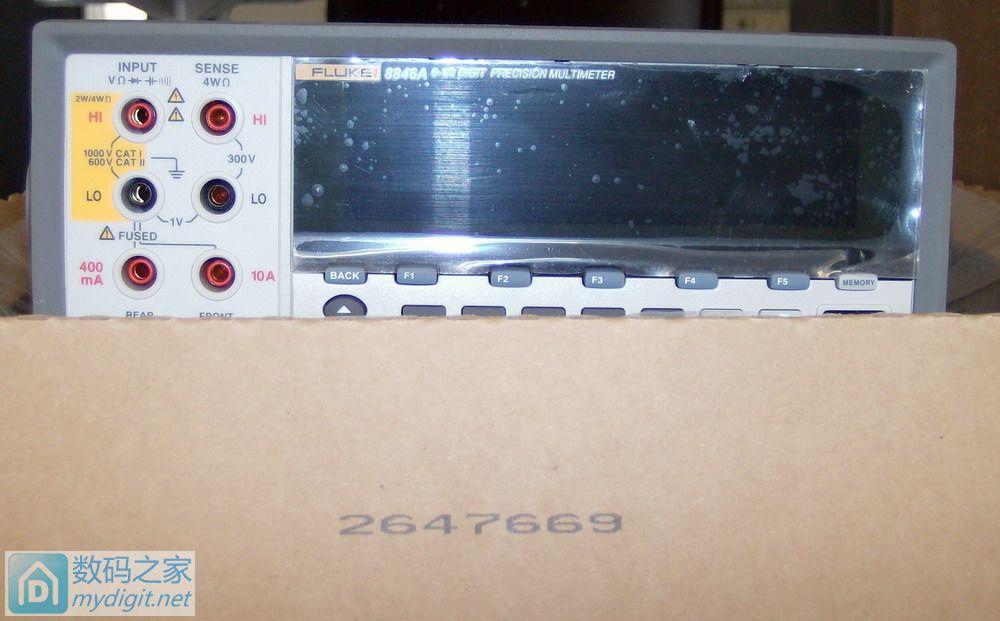 福禄克8846A开箱