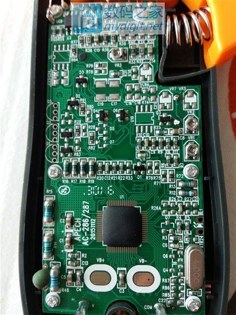 南京天宇钳型电流表简单拆解(NJTY 3266TA)