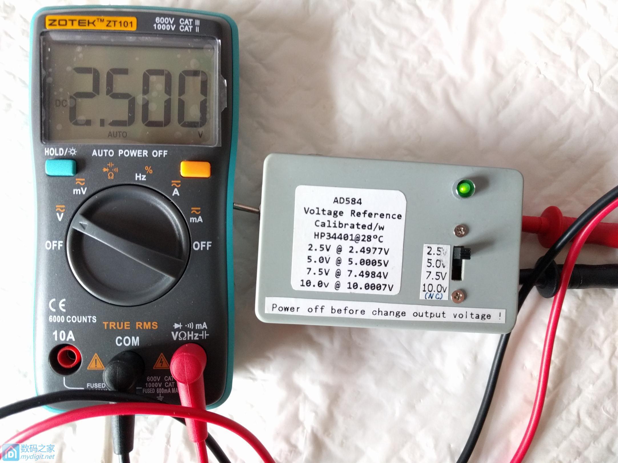 小巧实用众仪 ZOTEK ZT101自动档万用表评测(多图)