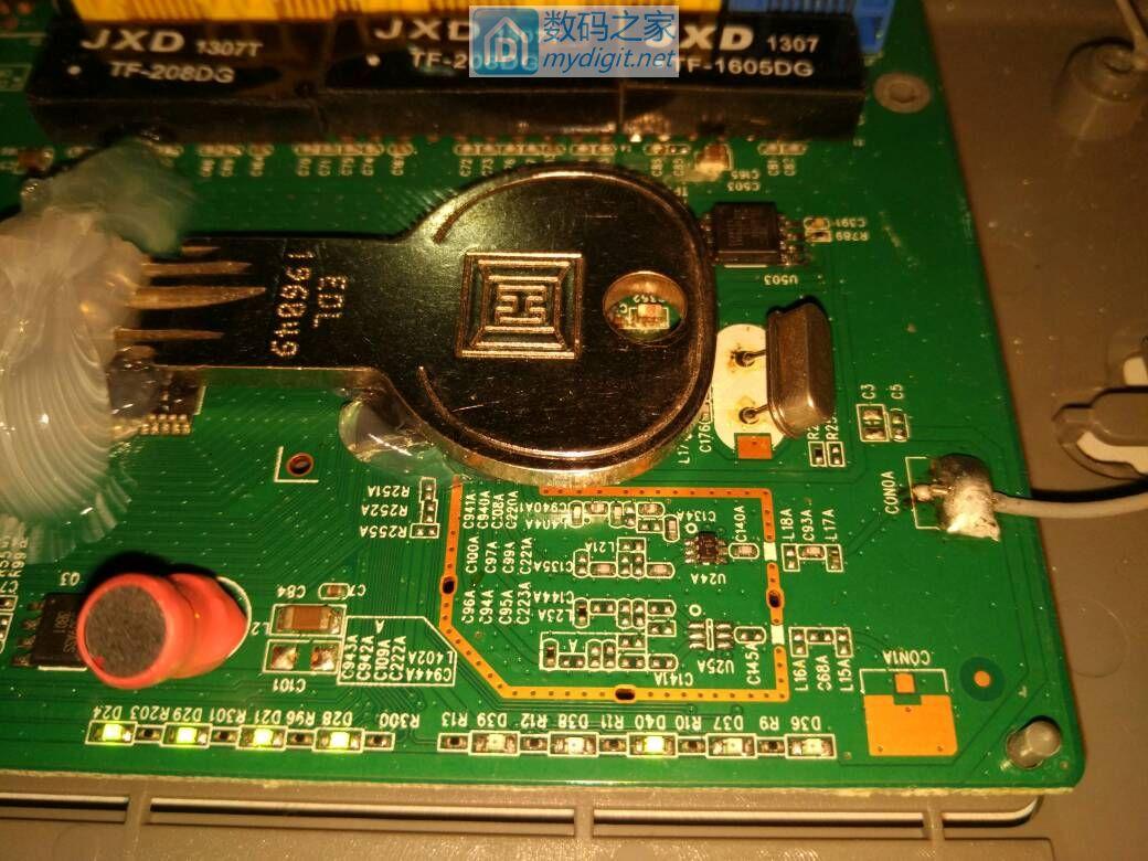 腾达811r路由器加散热片(10楼更新打胶图)