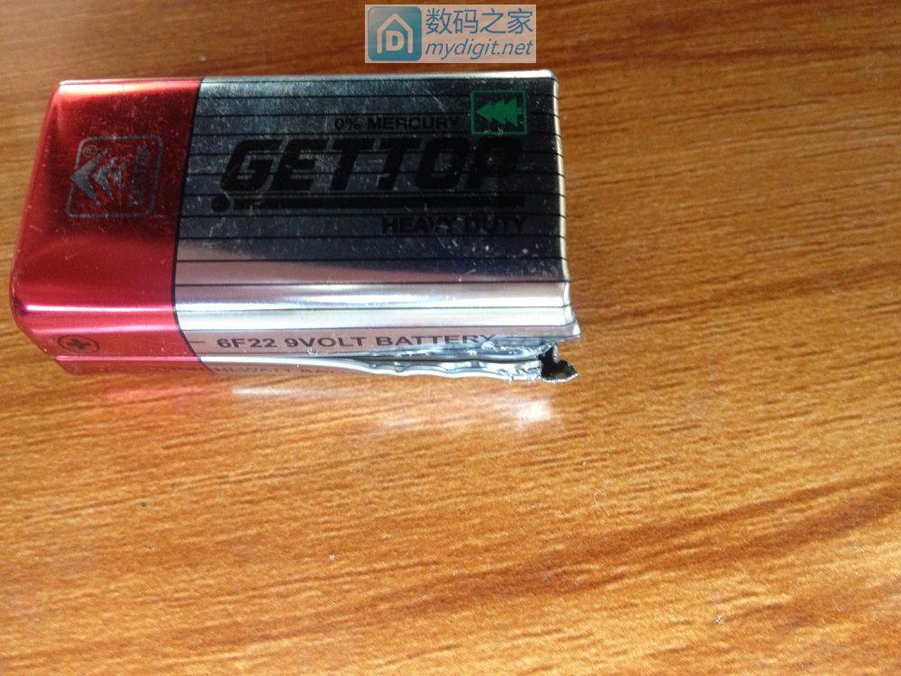 拆10个品牌十几种9伏叠层电池