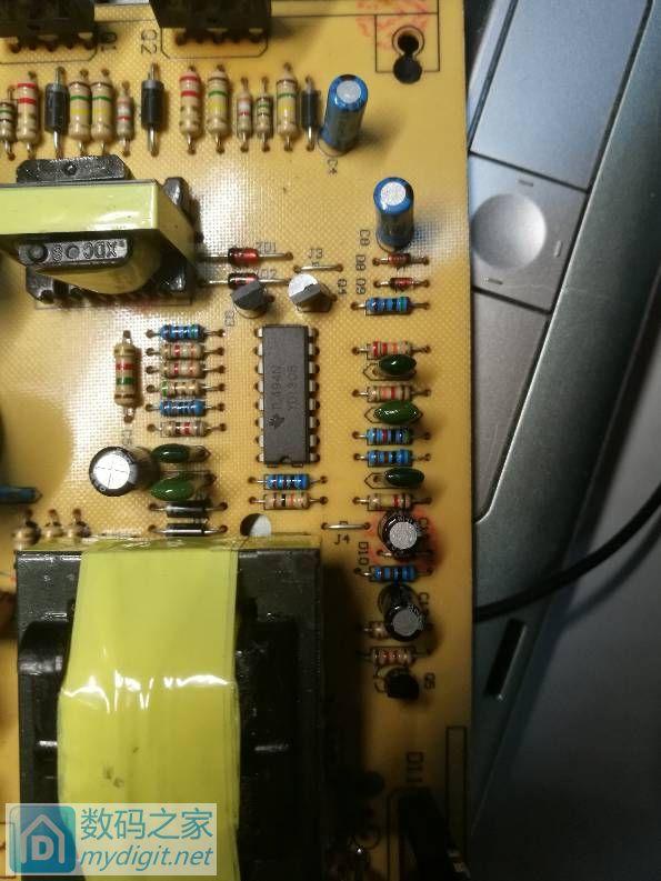一个开关电源,不知该怎么维修