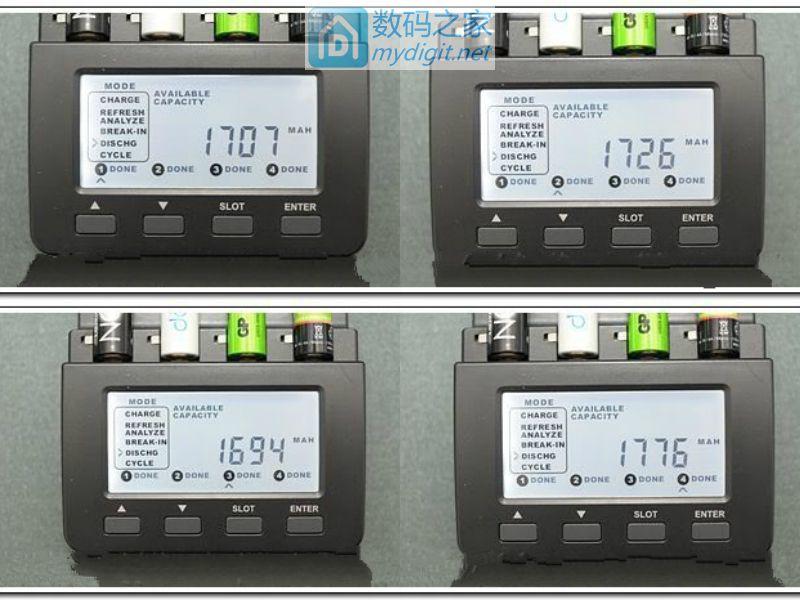四款低自放电电池自放电大测试!