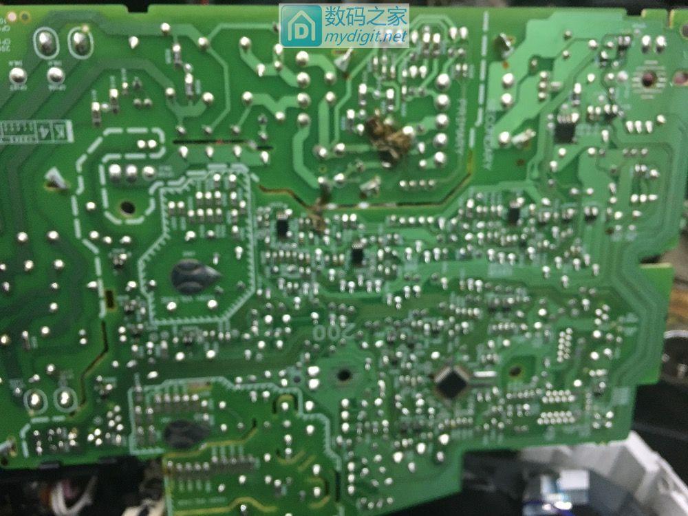 佳能激光打印机电路修复~完成