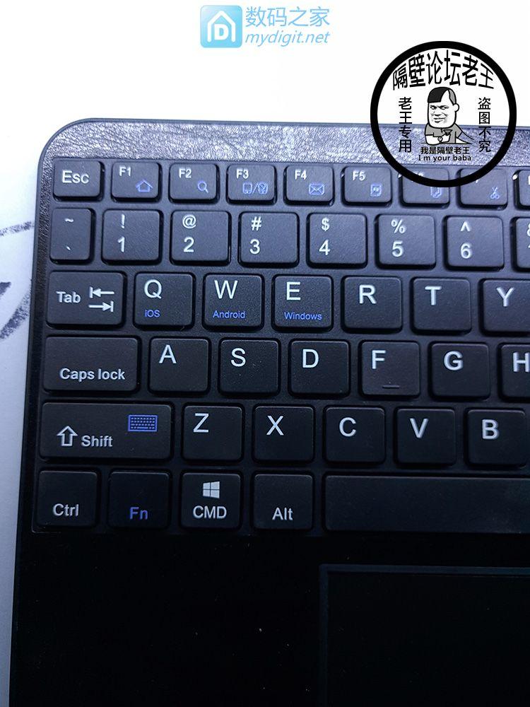 老王我出一波外贸带鼠标触控板的蓝牙键盘 坛友29.8包邮 进来看看吧