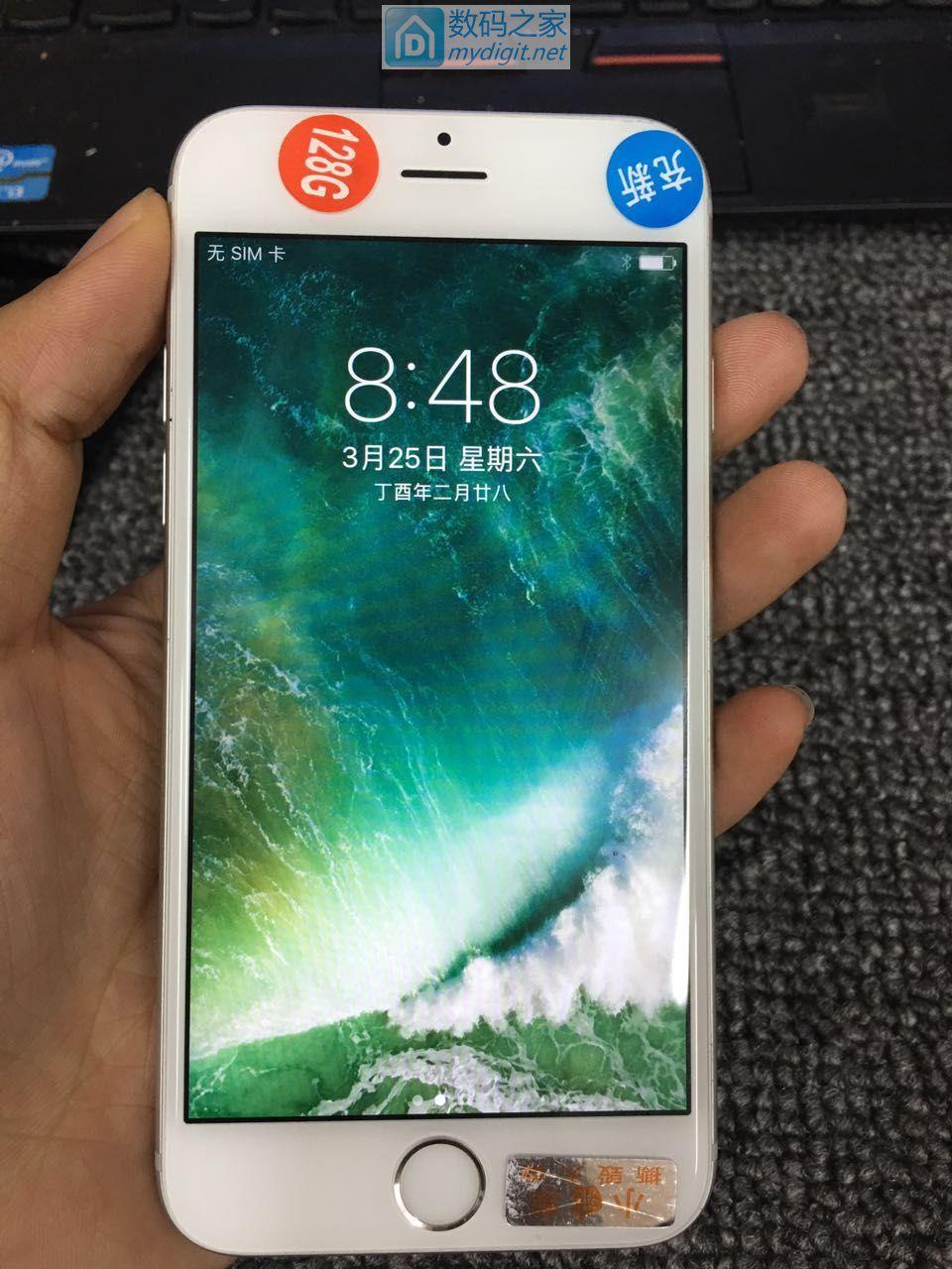 iphone6s 128g 银白色