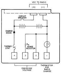 摩托罗拉手台原厂电池电路图