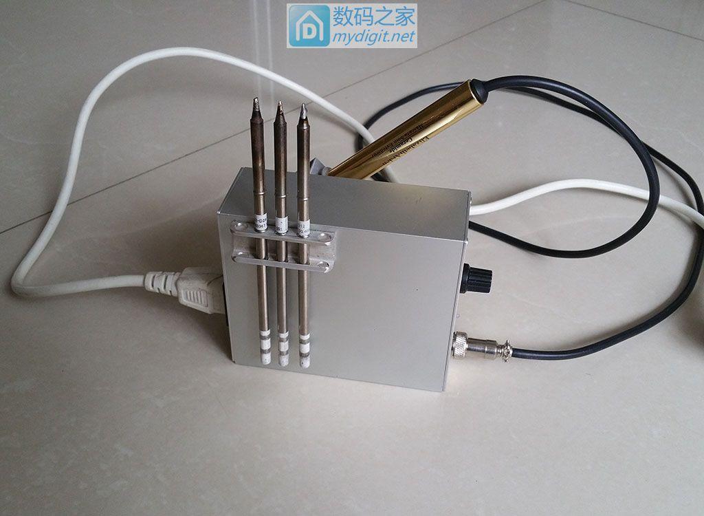 继纯手工DIY铝T12铝盒子第二弹改进版
