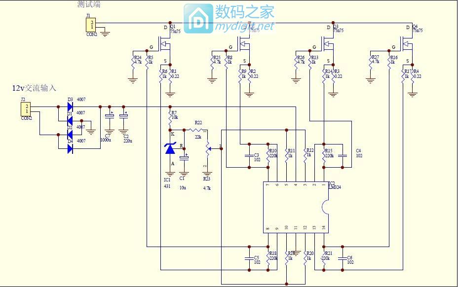 DIY要功能也要有颜值,学前辈DIY 150W电子负载
