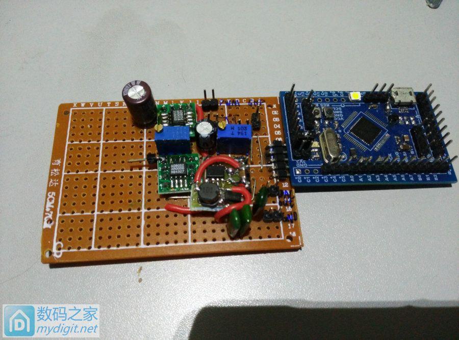 做个超低成本简易任意波信号发生器 10hz-200khz