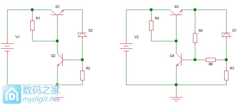 简单说一下分立元件恒流电路的前半部分
