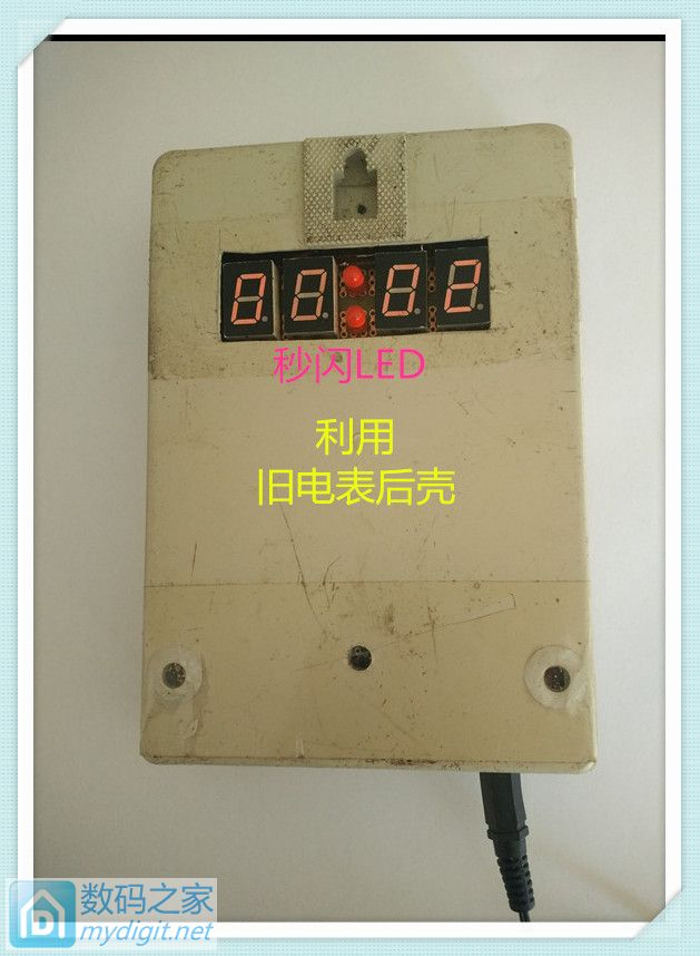 电子工业飞速发展,对比看集成化进步:纯数字电路数码时钟制作