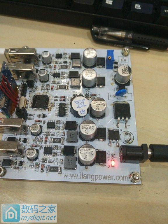 自制QC3.0 充电器 4口输出