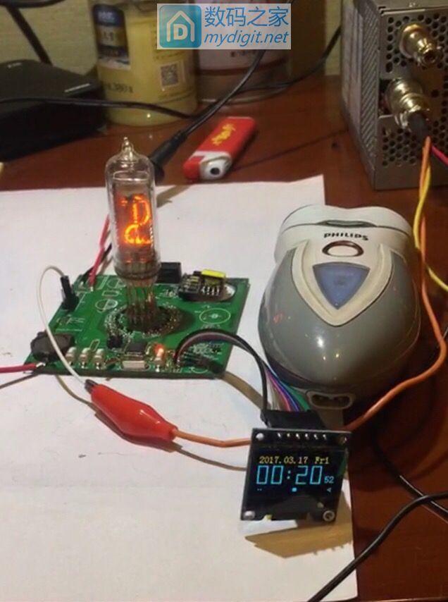 辉光管+OLED时钟设计之四